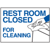Magnetic Housekeeping Signs - Rest Room Closed