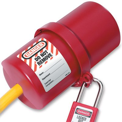 Master Lock® Rotating Electrical Plug Lockout