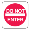 Mini Traffic Signs - Do Not Enter