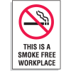 No Smoking Signs - Smoke Free Workplace