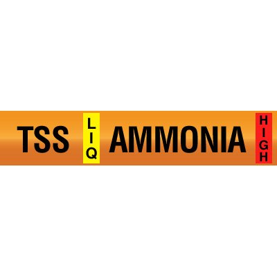 Opti-Code™ Ammonia Pipe Markers - Thermosyphon Supply