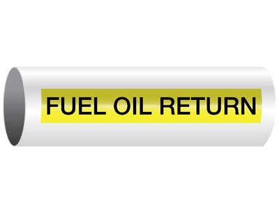 Fuel Oil Return - Opti-Code® Pipe Markers