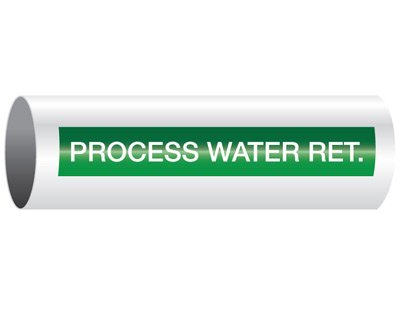 Process Water Return - Opti-Code® Pipe Markers