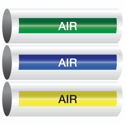 Opti-Code™ Self-Adhesive Pipe Markers - Air