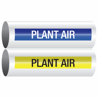 Opti-Code™ Self-Adhesive Pipe Markers - Plant Air
