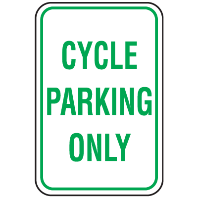 Parking Signs - Cycle Parking Only