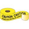 Underground Warning Tape - Caution Buried Gas Line Below