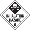 Inhalation Hazard Hazardous Material Placards