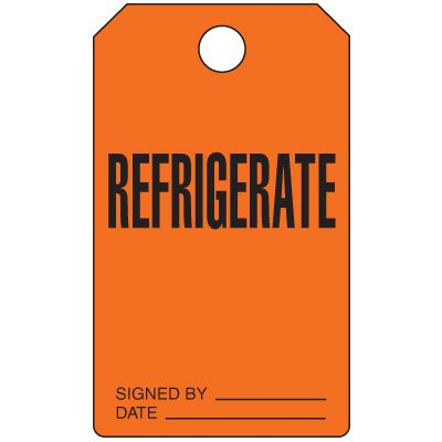 Refrigerate - Production Status Tags