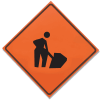 TrafFix Devices Roll Up Signs - Men Working 26036-EM-HF