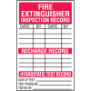 Fire Extinguisher Safety Inspection Labels