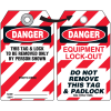 Self-Laminating Employee Photo Lockout Tags- Danger This Tag & Lock