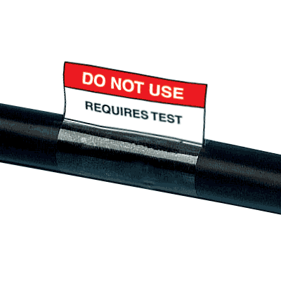 Electrical Safety Write-On Cable Markers - Do Not Use