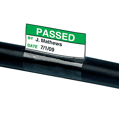 Electrical Safety Write-On Cable Markers - Passed