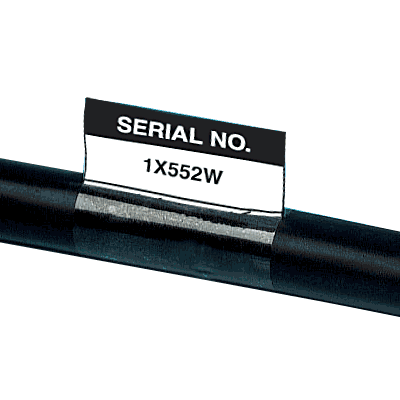 Electrical Safety Write-On Cable Markers - Serial No.