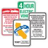 Semi-Custom California Traffic And Parking Signs