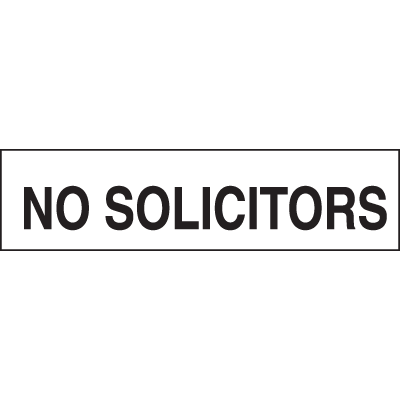 Setonsign® Value Packs - No Solicitors