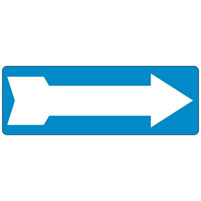 Arrow Right - Industrial Shipping and Receiving Signs