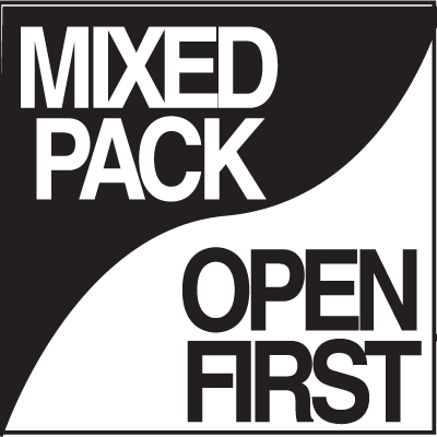Shipping Labels - Mixed Pack Open First