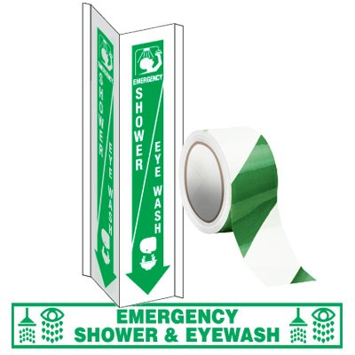 Shower & Eyewash Identification Kit