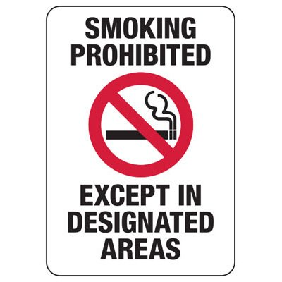 Smoking Prohibited - Industrial Smoking Signs