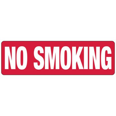 No Smoking - Industrial Smoking Signs