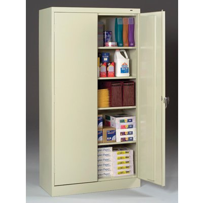 "18""-deep Tennsco Storage Cabinets"