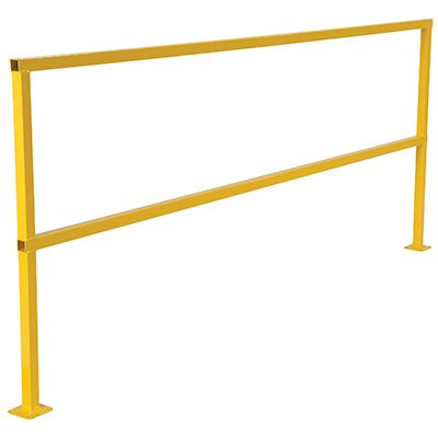 Steel Square Safety Handrails Without Toeboard