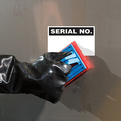 ToughWash® Labels - Serial No.