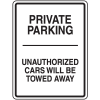 Tow Away No Parking Signs - Private Parking