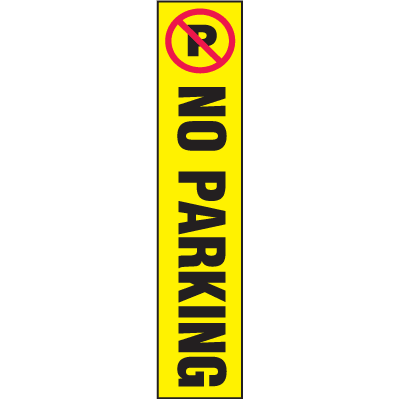 Flexstake No Parking Traffic Label For Flexible Guide Posts LT110