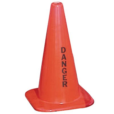 Warning Message Traffic Cones