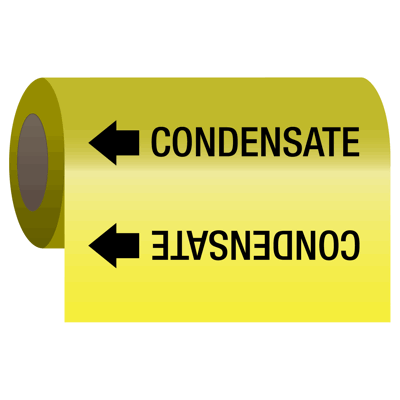 Wrap Around Adhesive Roll Markers - Condensate