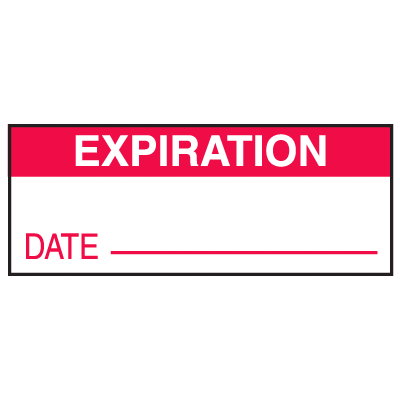 Expiration Date Write On Labels
