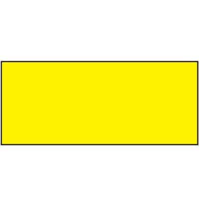 Blank Yellow Status Label