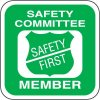 Safety Training Labels Safety Committee Member