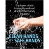 Hand Washing Posters - Safe Hands, Clean Hands