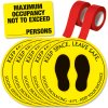 Social Distancing Signage Kit for Auditorium Assembly