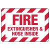 Fire Extinguisher & Hose Inside Sign