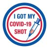 I Got My COVID-19 Shot Sticker