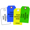 Custom Colored Printed Paper Tags