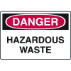 Danger Signs - Hazardous Waste