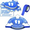 3D Social Distancing Label Kit for Foyers - Blue