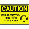 Machine Safety Signs - Ear Protection Required In This Area