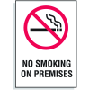 No Smoking On Premises Signs