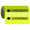 Self-Adhesive Pipe Markers-On-A-Roll - Condensate
