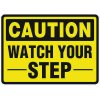 Watch Your Step - Traffic Cone Signs