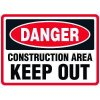 Construction Area - Traffic Cone Signs