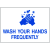 Health & Facility Labels - Wash Your Hands Frequently