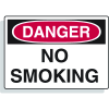Magnetic OSHA Signs - Danger - No Smoking